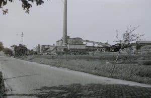 Brikettfabrik Trendelbusch ( OT von Runstedt ). Abgerissen um 1960. Foto: LK Helmstedt, Kreisheimatpflege