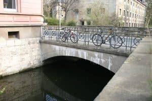 Die Brücke an der Neustadtmühle, Südost-Ansicht. Foto: Elmar Arnhold