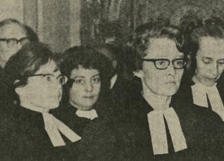 In der Katharinenkirche in Braunschweig wurden die ersten sechs Pastorinnen der Evangelisch-lutherischen Landeskirche in Braunschweig ordiniert. Foto: Braunschweiger Zeitung/Archiv