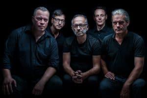 Das Kunst Kollektiv Kreuz mit Erick Miotke, Andreas Greiner-Napp, Friedhelm Kranz, Gernot Baars und Michael Nitsche. Foto: Andreas Greiner-Napp