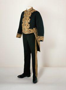 Galauniform eines Braunschweigischen Ministers. Foto: BLSM / Anja Pröhle