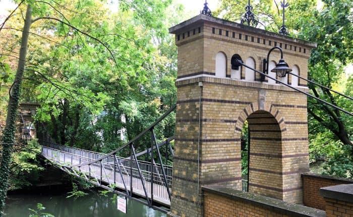 Die Rosentalbrücke. Foto: Der Löwe