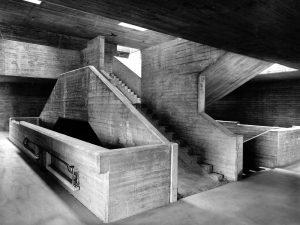 Treppenhaus in der Heinrich-Nordhoff-Gesamtschule. Foto: BLM