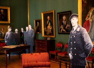 Revolutionäre im Arbeitszimmer des Schlossmuseums. Foto: M. Kruszewski/Schlossmuseum