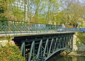 Die Pockelsbrücke, Südostansicht. Foto: Arnhold
