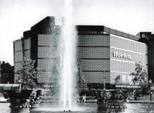 Der Horten-Bau 1974. Foto: Archiv Bofinger
