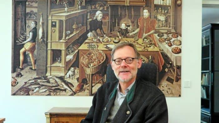Professor Jochen Luckhardt. Foto: Andreas Berger