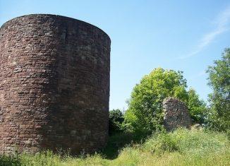 Die Ruine der Homburg. Foto: IBR