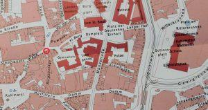 Ausschnitt aus der Karte Braunschweig 2009. Aus Deutscher Historischer Städteatlas Braunschweig. Foto: Der Löwe/Stadtarchiv