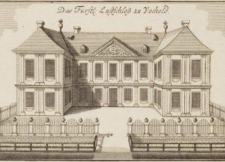 Schloss Vechelde, Kupferstich von Anton August Beck, um 1760. Foto: Braunschweigische Landschaft