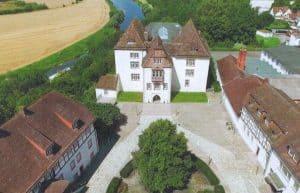 Blick auf das Schlossensemble Fürstenberg.