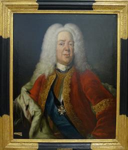 Das restaurierte Gemälde von Herzog Ludwig Rudolf. Foto: Heike Billerbeck