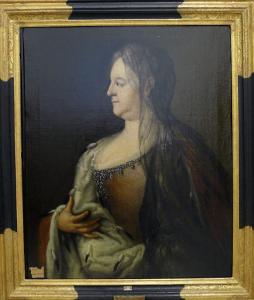 Das restaurierte Gemälde von Herzogin Christine Luise. Foto: Heike Billerbeck
