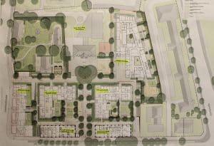 Der Lageplan Quartier St. Leonhard. Foto: Der Löwe