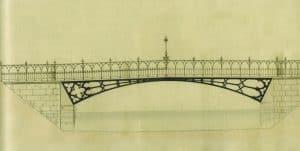 Entwurf von Carl Theodor Ottmer (1838). Foto: Stadtarchiv