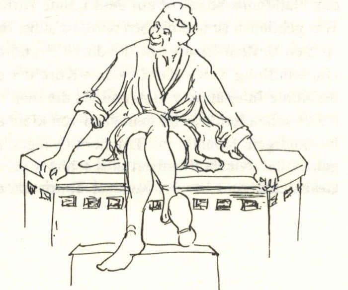 """Der Eulenspiegel-Brunnen von Hans Wesker als Illustration für das Büchlein """"""""Gedanken über das Braunschweigische"""" von Prof. Dr. Werner Knopp. Foto: Der Löwe"""