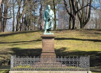 Das Gauß-Denkmal. Archivfoto: Peter Sierigk