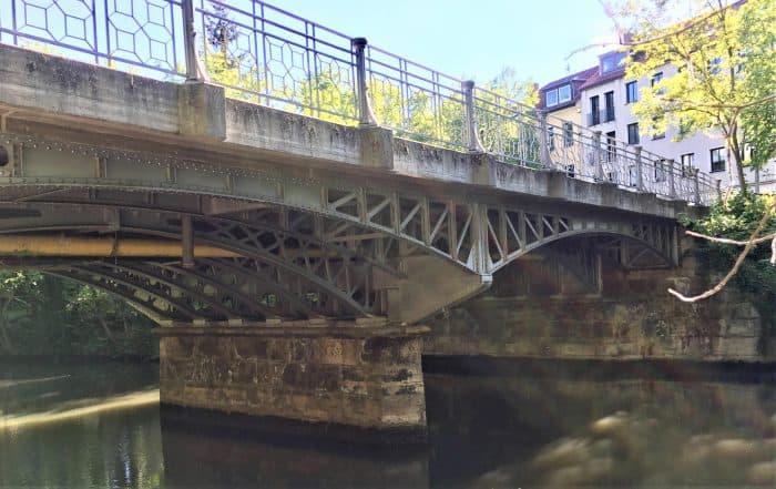 Die Südansicht der Hohetorbrücke. Foto: Der Löwe