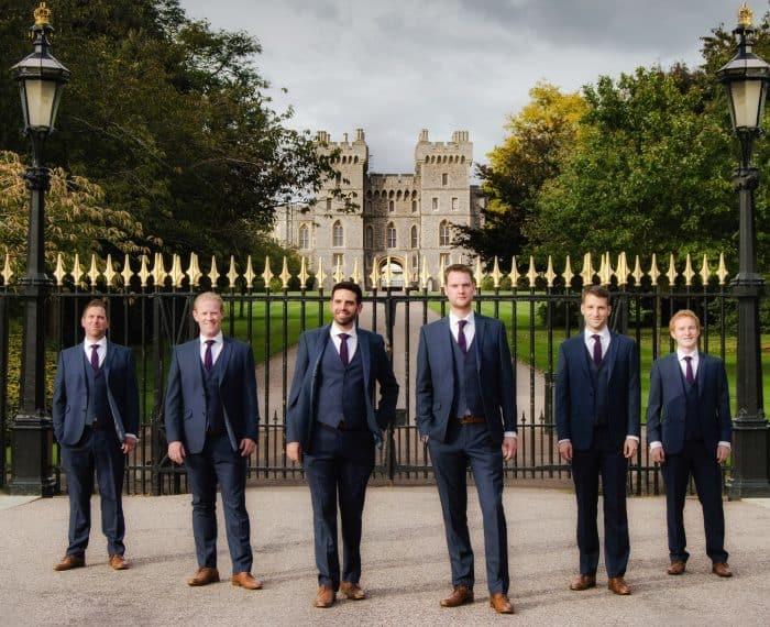 """""""The Queen's Six"""" aus Windsor Castle. Fotos: Veranstalter"""