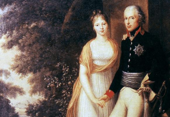 Elisabeth Christine Ulrike und Friedrich Wilhelm II. als junges Paar. Archiv: IBR