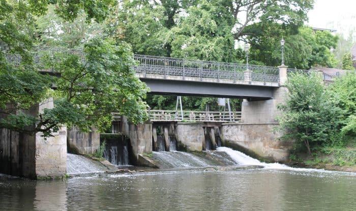 Die Ostansicht der Petriwehrbrücke. Foto: Der Löwe