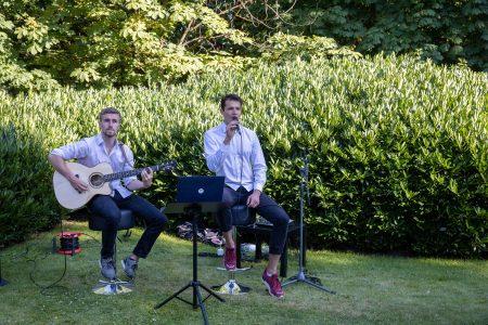 Dezente Hintergrundmusik unterhielt die Gäste. Foto: HdBS / Marek Kruszewski