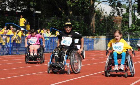 Sportivationstage des Behinderten-Sportverbands Niedersachsen. Foto: Die Braunschweigische Stiftung