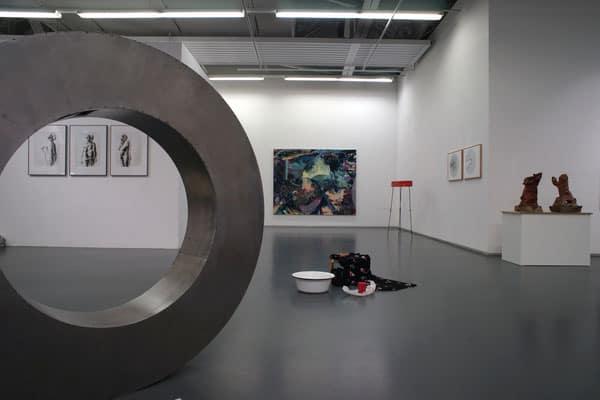 Blick in die Ausstellung. Foto: BBK/ Michel Lavignon