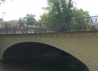 Nordansicht der Steintorbrücke. Foto: Der Löwe