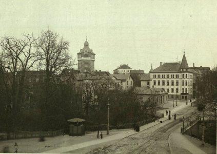 Steintor um 1900. Foto: Stadtarchiv Braunschweig, H XVI A III 1