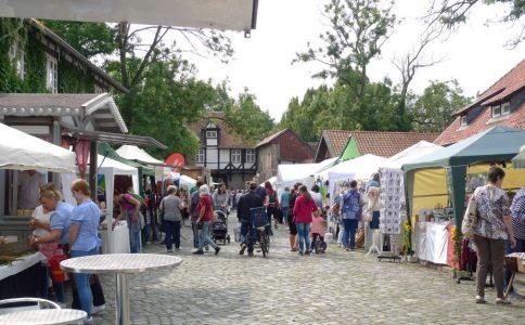 Der Dorfmarkt lockt in diesem Jahr mit 180 Ständen. Foto: Förderverein Riddagshausen