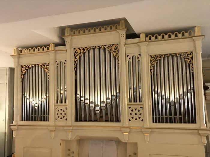 Die restaurierte Orgel. Foto: Meike Buck