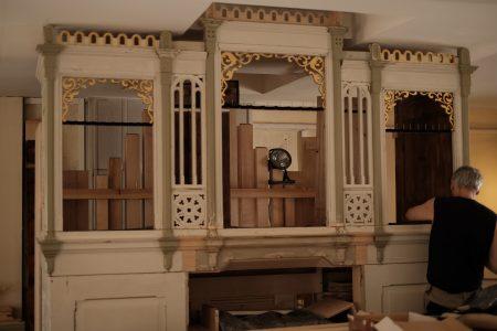 Auch das Gehäuse der Orgel musste instandgesetzt werden. Foto: Meike Buck