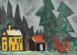 Kleine Försterei von Lyonel Feininger. Foto: Privatsammlung/Sierigk