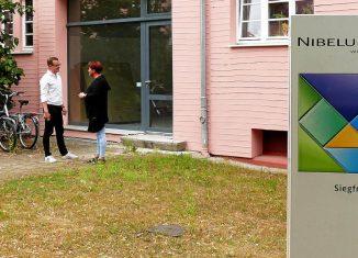 An der Ecke Walkürenring/Siegfriedstraße entsteht demnächst ein Forum für kreatives Miteinander. Foto: Karsten Mentasti
