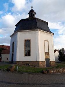 Die Oktogon-Kirche vor den Aktuellen Restaurierungsarbeiten. Foto: Staatliches Baumanagement Braunschweig