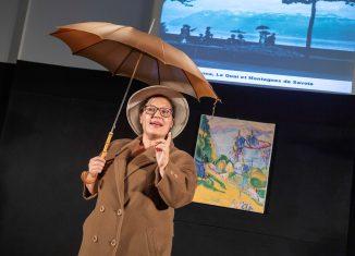 Foto 1: Gesa Dierksen als Galka Scheyer. Foto: Klaus G. Kohn