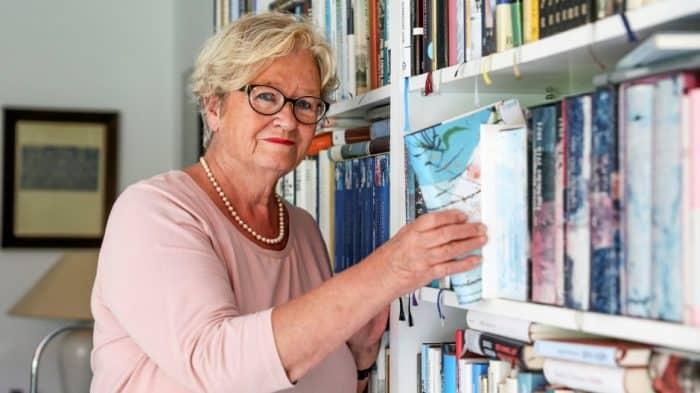 Anne Schulze aus Hehlingen hat fast 25 Jahre den Literaturkreis geleitet. Foto: Anja Weber / regios24