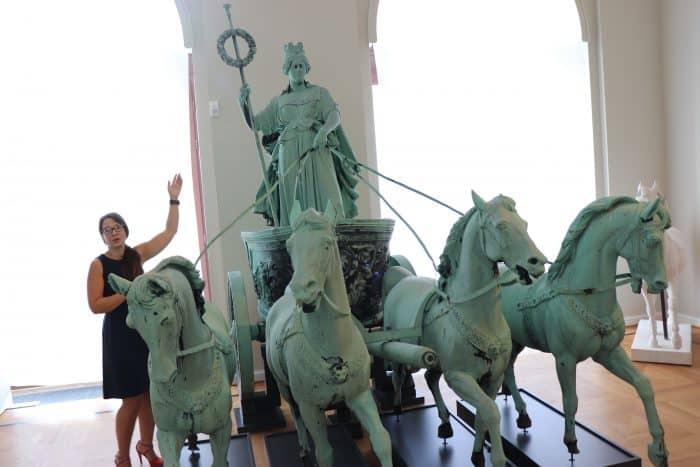 Die Seesener Quadriga war im Sommer 2018 bereits im Schlossmuseum zu sehen. Foto: Birgit Wiefel