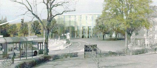 So großzügig war der St. Nicolai-Platz mal geplant. Ansicht: Grazioli + Muthesius