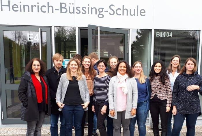 """Vertreterinnen und Vertreter niedersächsischer Kommunen informierten sich über """"SchuBS"""". Foto: privat"""