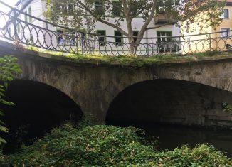 Die Brücke am Neuen Petritor. Foto: Der Löwe
