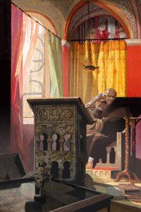 Widukind. Illusttration: Kelvin Wilson, Ridderkerk (NL)