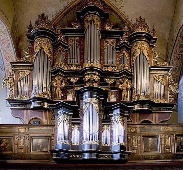 Die Jonas-Weigel-Orgel. Foto: Michael Künne