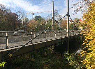 Die Petritorbrücke, Ostansicht. Foto: Löwe