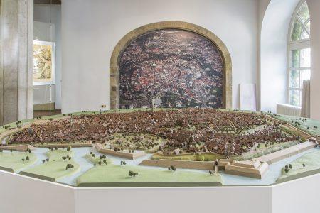 Stadtmodell im Altstadtrathaus von 1671. Foto: Stadt Braunschweig/Daniela Nielsen