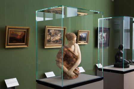 Blick in die Ständige Ausstellung im Haus am Löwenwall. Foto: Städtisches Museum