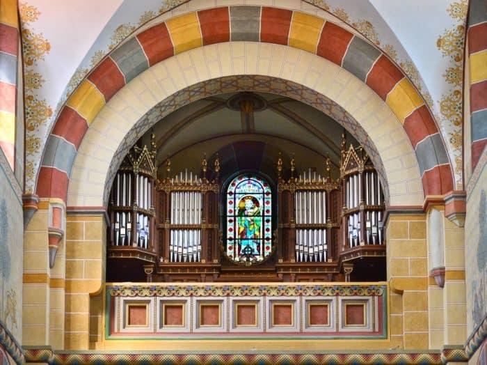 Die Furtwängler & Hammer-Orgel im Kaiserdom Königslutter. Foto: Andreas Greinre-Napp/SBK.