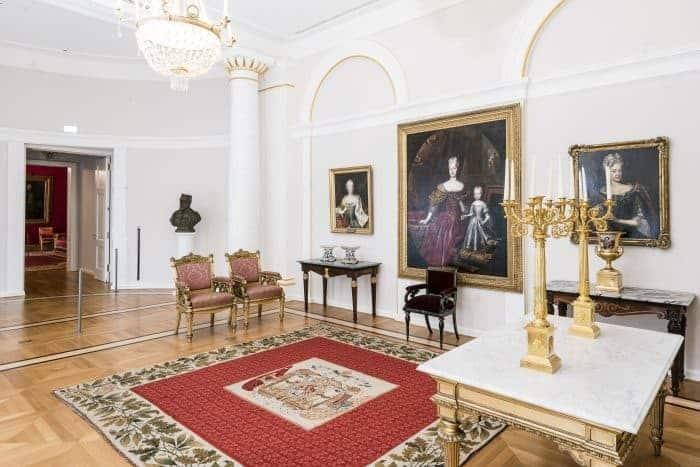 Das Audienzzimmer im Schlossmuseum. Foto: Schlossmuseum/Küstner