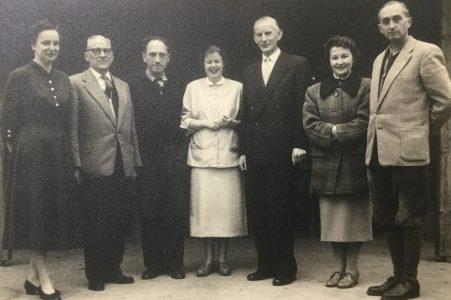 Lehrerkollegium der Volksschule Stederdorf 1959. Rechts im Bild Artur Wilke. Foto: privat